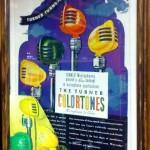 Vintage advertisement for Turner Colortone Microphones