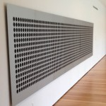Microtonal Wall by Tristan Perich
